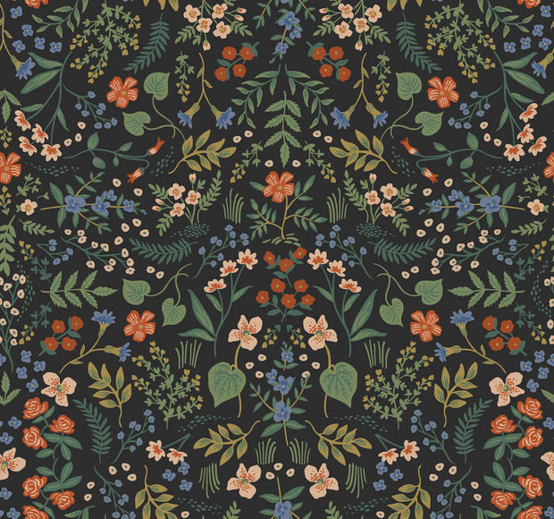 Rifle Paper Co. Wildwood Wallpaper - Black