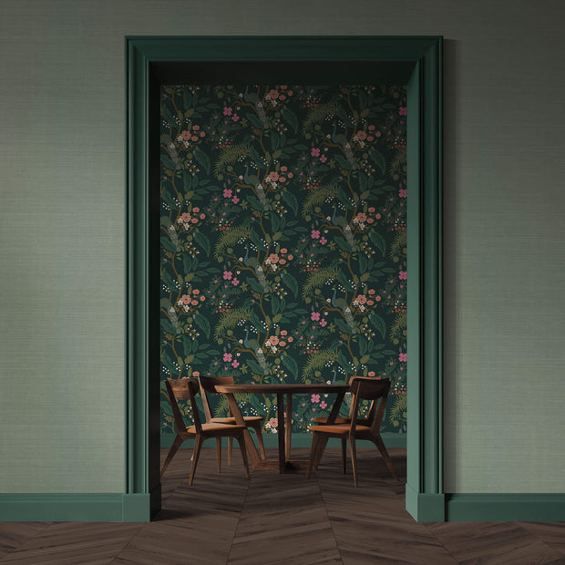 Rifle Paper Co. Palette Wallpaper - Sage Green
