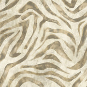 RK4448 Urban Chic Serengeti Zebra Wallpaper White Beige