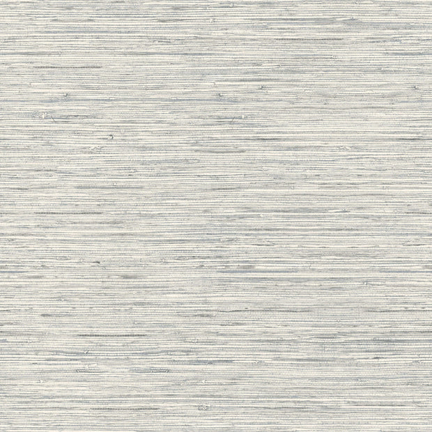 Peel and Stick Grasscloth Wallpaper - Gray Blue
