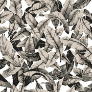 Palm Leaves Peel and Stick Wallpaper - Gray