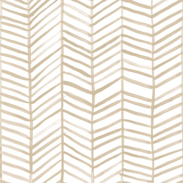CatCoq Herringbone Peel and Stick Wallpaper - SAMPLE ONLY