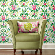 CatCoq Tropical Peel and Stick Wallpaper - Green