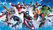 Avenger Characters Gallery Art Peel And Stick Wall Mural
