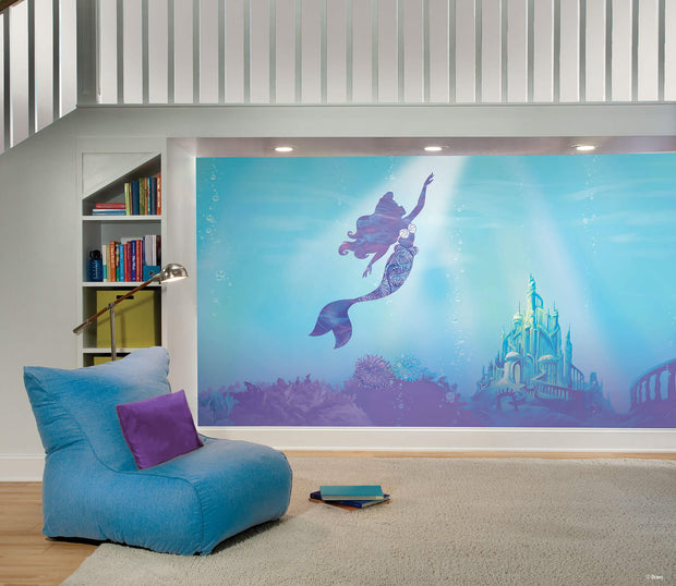 The Little Mermaid Under The Sea Peel And Stick Wall Mural