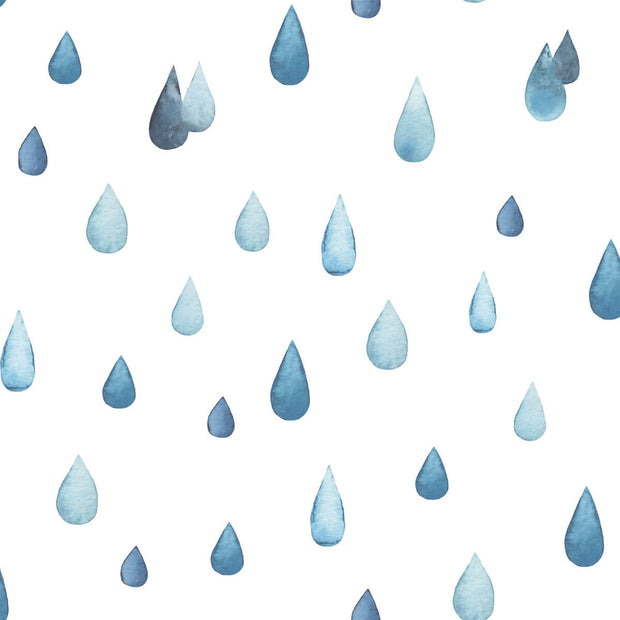 Raindrops Peel and Stick Wallpaper