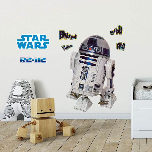 Star Wars Classic R2D2 Lifesize Wall Decal
