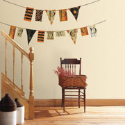 Happy Halloween Pennants Wall Decals