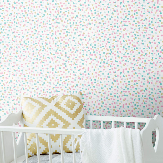 Confetti Peel and Stick Wallpaper - Multicolor