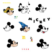 Disney Mickey Mouse Classic 90th Anniversary Peel and Stick Wall Decals