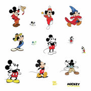 Disney Mickey Mouse True Original 90th Anniversary Wall Decals