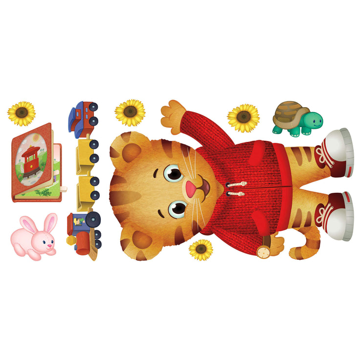 Daniel Tiger Peel and Stick Giant Wall Decals