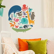 Jungle and Safari Animals Wall Decals