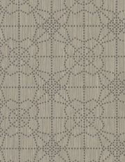 "54"" Stacy Garcia Gilded Wallpaper - Brown/Gray"