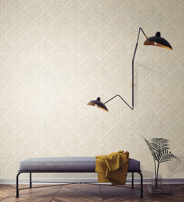 "54"" Stacy Garcia Architect Wallpaper - Gray"