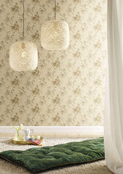Candice Olson Tranquil Koi Wallpaper - Beige