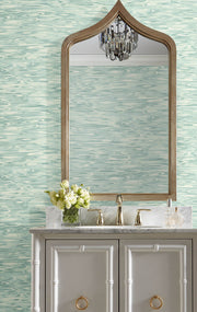 Candice Olson Tranquil Still Waters Wallpaper - Light Blue