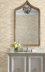 Candice Olson Tranquil Still Waters Wallpaper - Warm Neutral