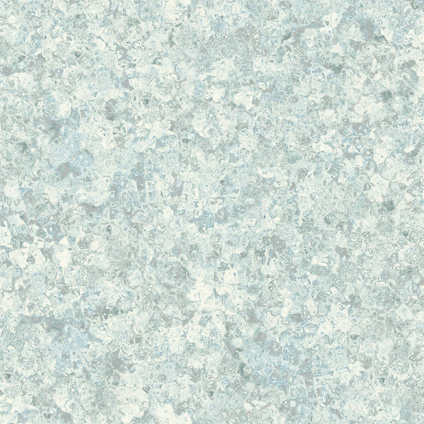 Candice Olson Tranquil Zen Crystals Wallpaper - Blue