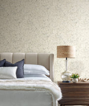 Candice Olson Tranquil Zen Crystals Wallpaper - Off White