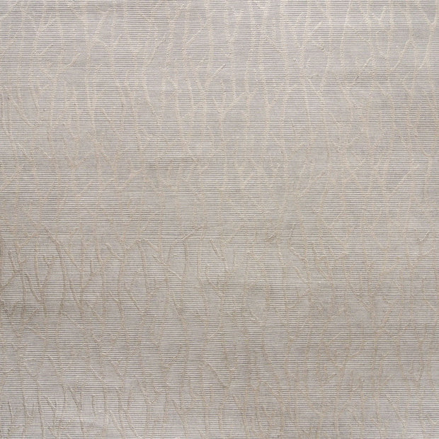 Candice Olson Tranquil Sea Branch Wallpaper - Gray Silver Pearl