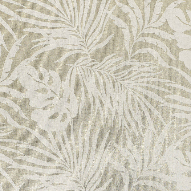 Candice Olson Tranquil Paradise Palm Wallpaper - Beige