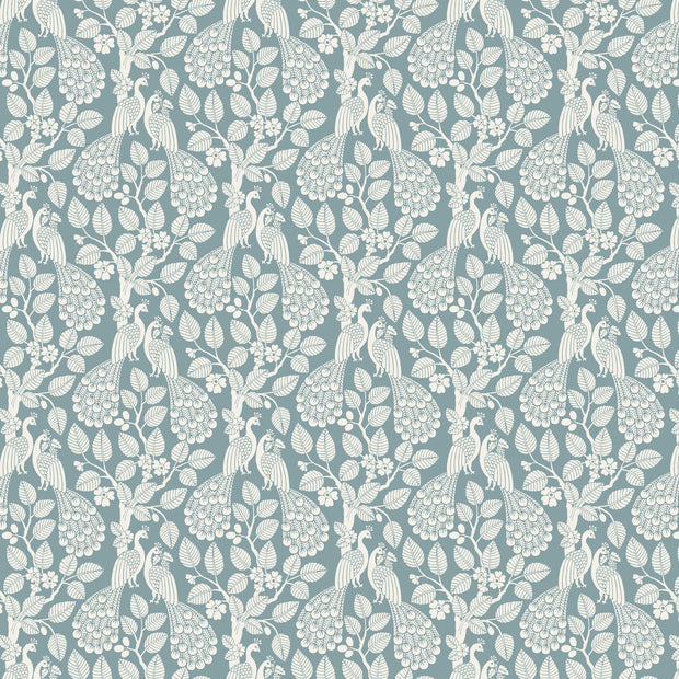 Plumage Wallpaper - Teal