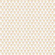 Petite Fleur Wallpaper - Peach/Yellow