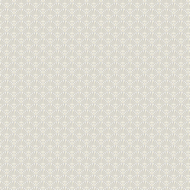 Fan Dance Wallpaper - Beige