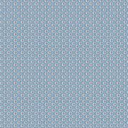 Circle Mosaic Wallpaper - Blue