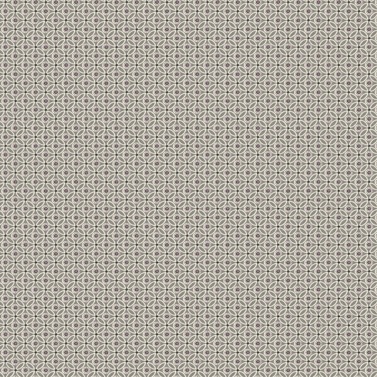 Circle Mosaic Wallpaper - Taupe