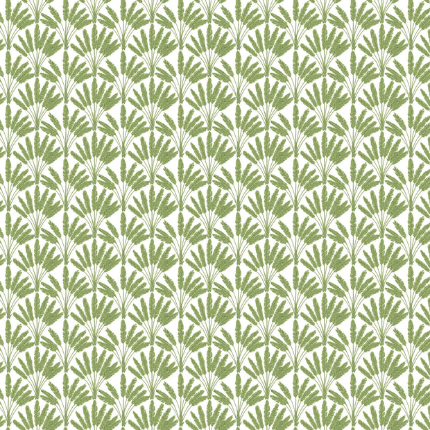 Frond Fan Wallpaper - Green