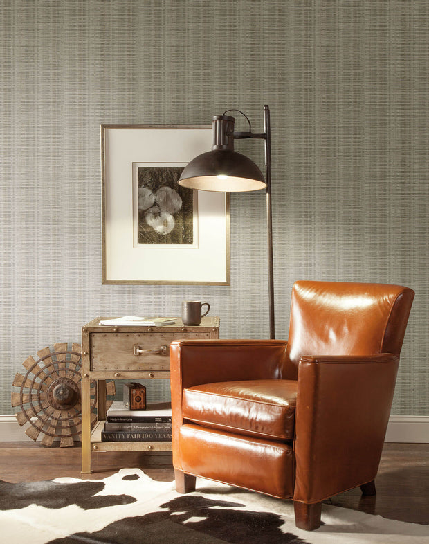 SR1516 Broken Boucle Stripe Wallpaper Light Neutrals