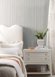 SR1607 Liquid Lineation Wallpaper Gray Cream