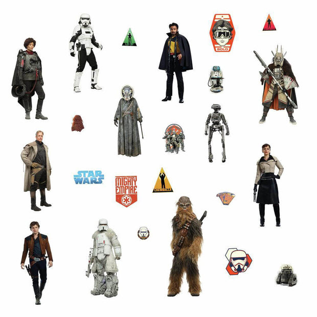 Star Wars Han Solo Movie Wall Decals