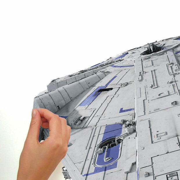 Star Wars Han Solo Movie Giant Millennium Falcon Wall Decal