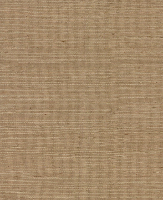 VG4403MH Magnolia Home Plain Grass Wallpaper York Brown