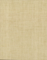 Grasscloth Resource Library Woven Crosshatch Wallpaper - Beige/Metallic