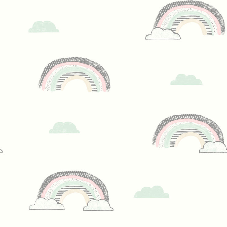 Chasing Rainbows Wallpaper - Pastels