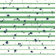 Splatter Stripe Dream Big Wallpaper - SAMPLE ONLY