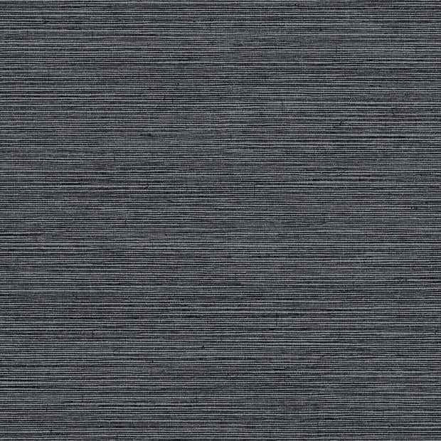 Grasscloth Resource Library Shining Sisal Wallpaper - Black