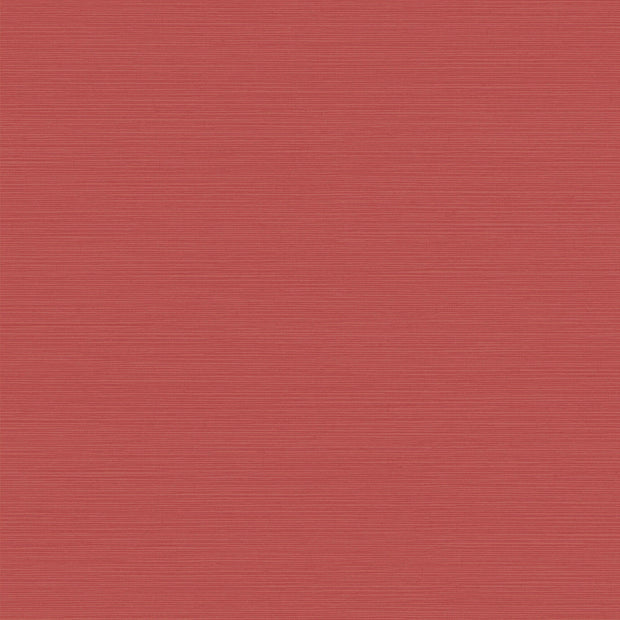 Shining Sisal Faux Grasscloth Wallpaper - Metallic Red