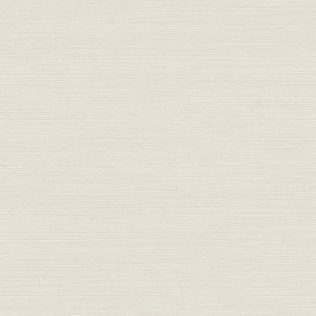 Shining Sisal Wallpaper - White/Metallic Silver