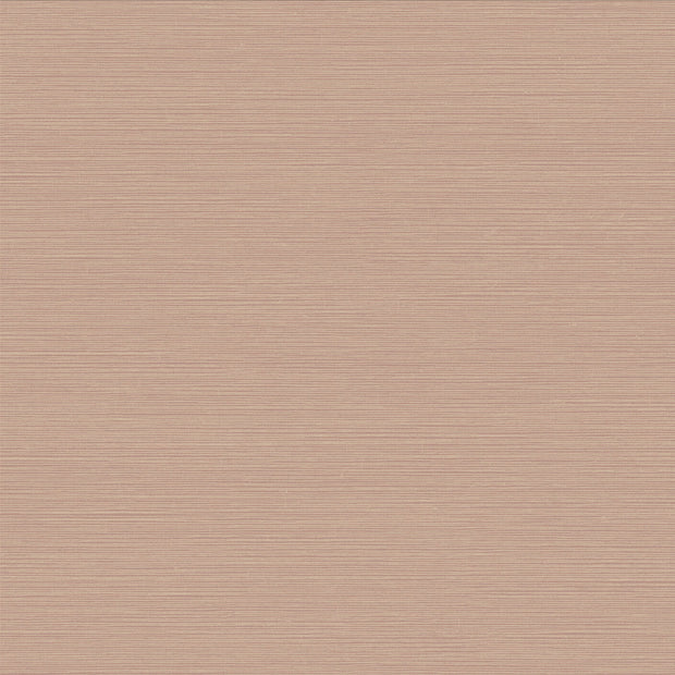 Shining Sisal Faux Grasscloth Wallpaper - Beige/Pink