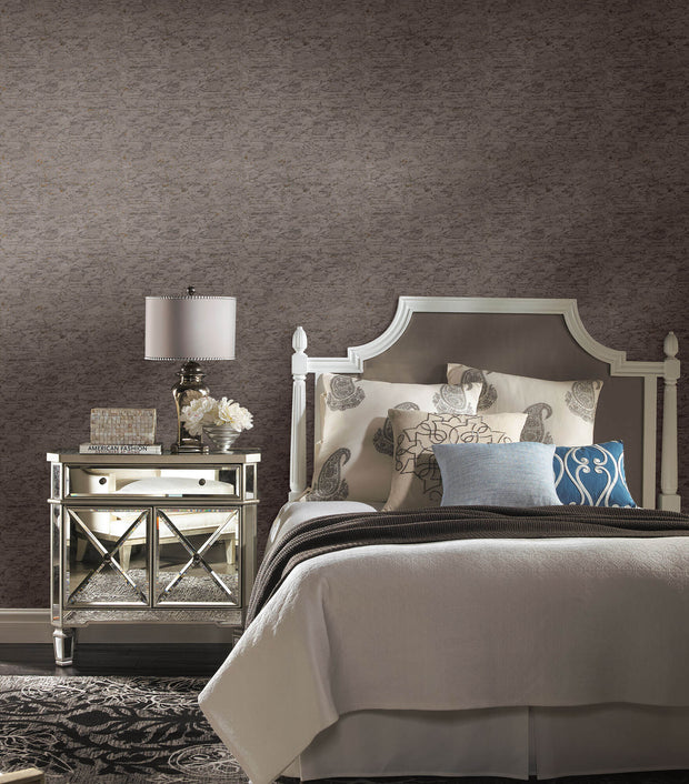 Dazzling Dimensions Cork Wallpaper - Dark Gray