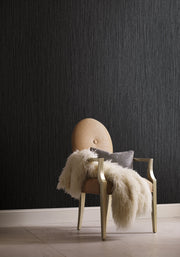 Grasscloth Resource Library Seagrass Wallpaper - Black