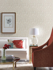 Y6230102 Feathers Wallpaper by Antonina Vella Cream