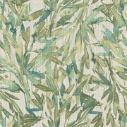 Y6230705 Rainforest Leaves Wallpaper Antonina Vella Teal Green