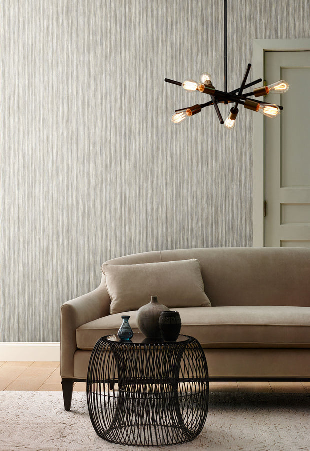 Y6231001 Opalescent Stria Wallpaper Antonina Vella Cool Neutral Beige