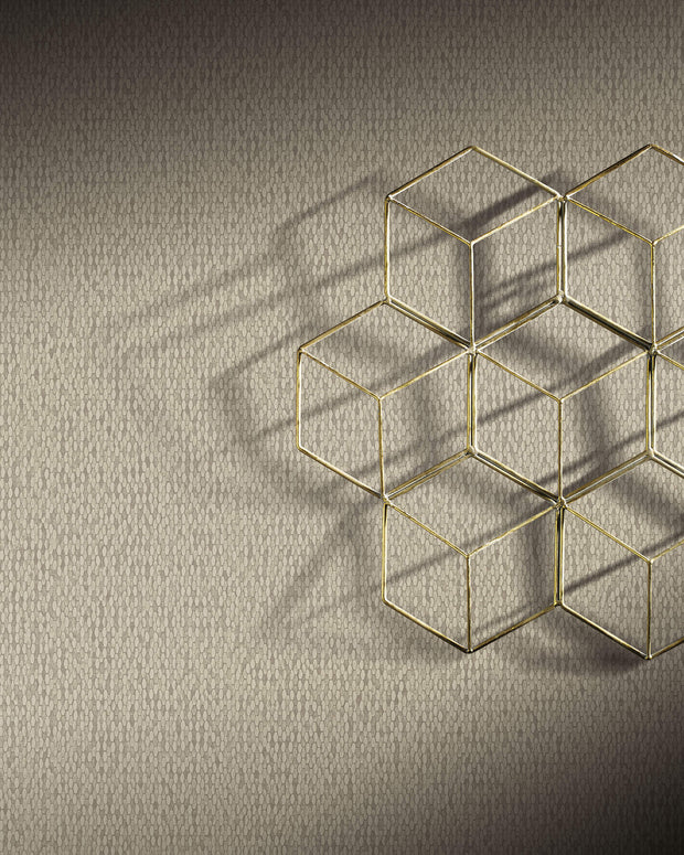Y6231101 Stretched Hexagons Wallpaper Antonina Vella Cream